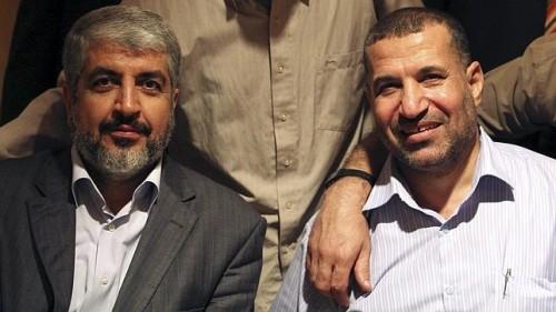 Rechts Ahmad Jabari
